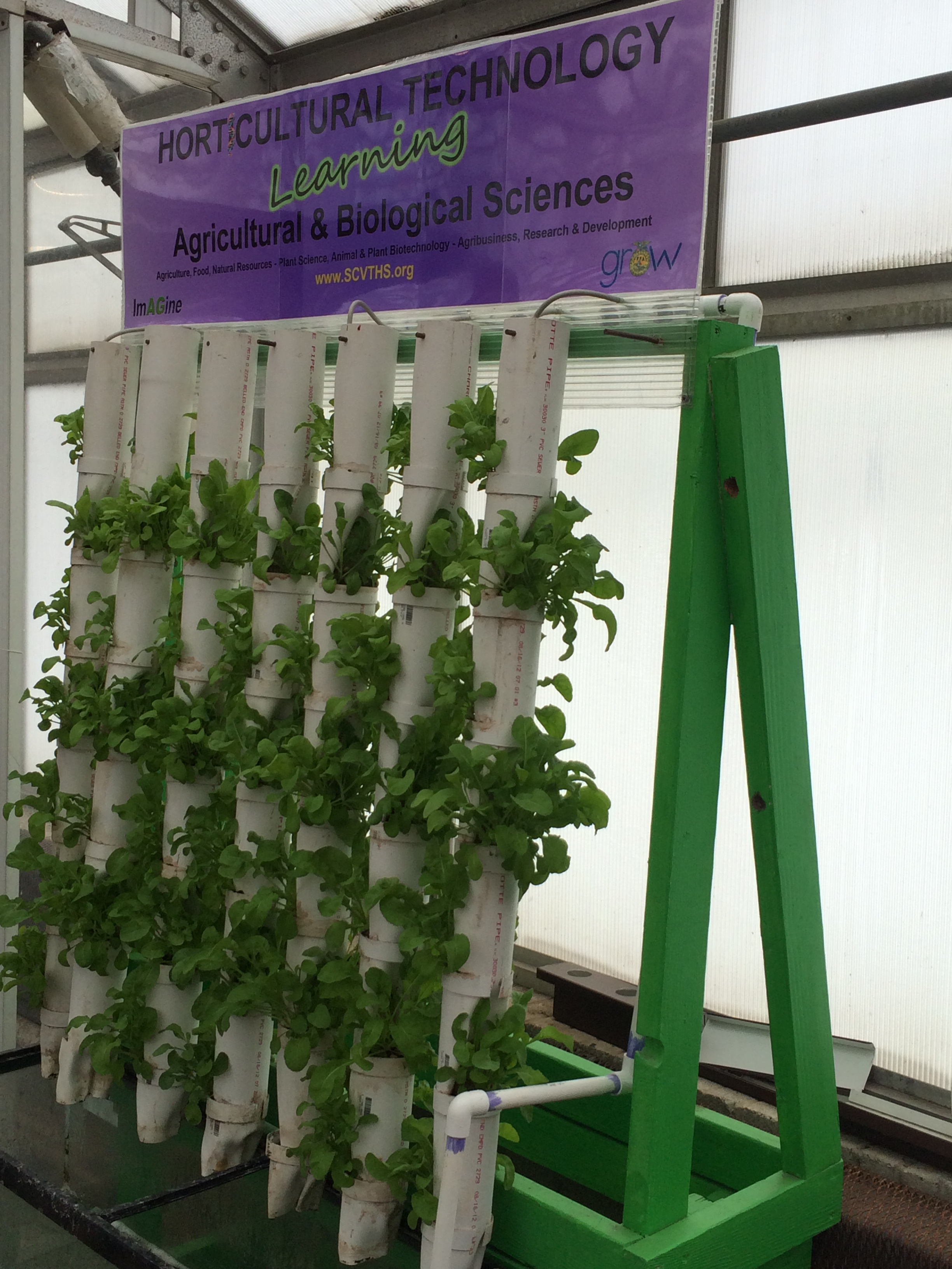 Mobile Edible Wall Unit Given To Somerset County Vo Tech