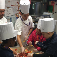 Chef To School Day at Garfield #5!